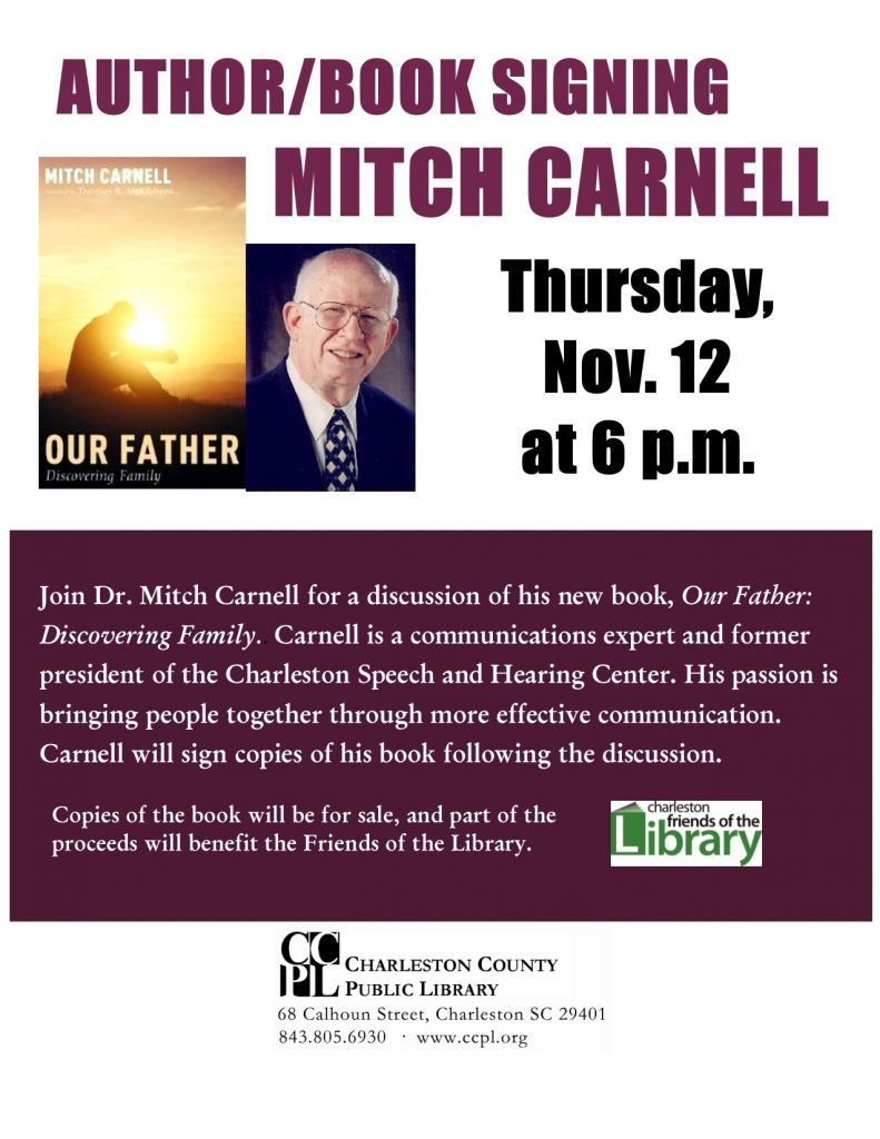 Mitch Carnell Library Signing