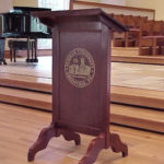 FBC Lectern for Furman